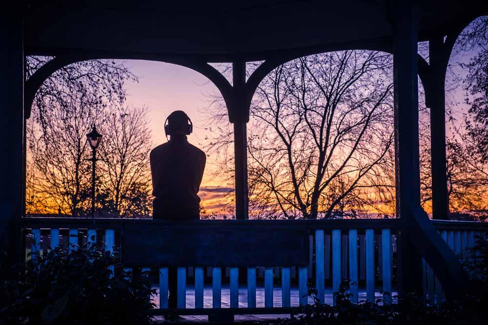 contemplation Ruskin park