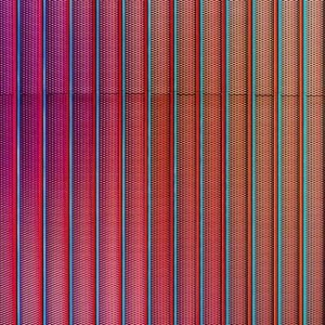red striped metal grill texture