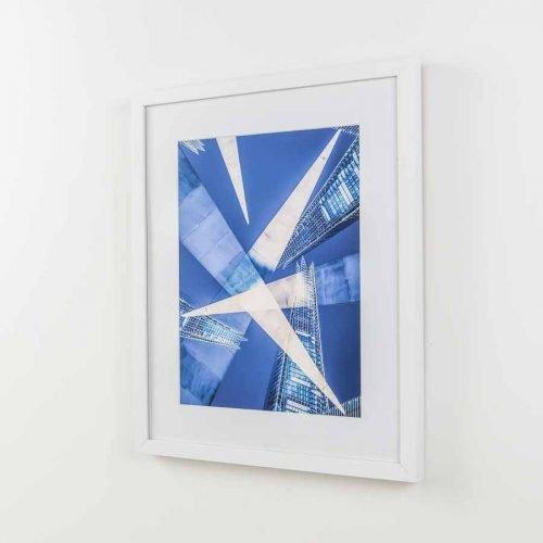 Shard Attack White Frame