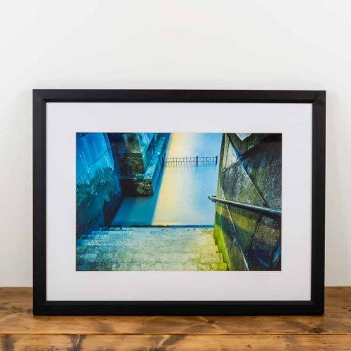 Battersea Steps Black Frame