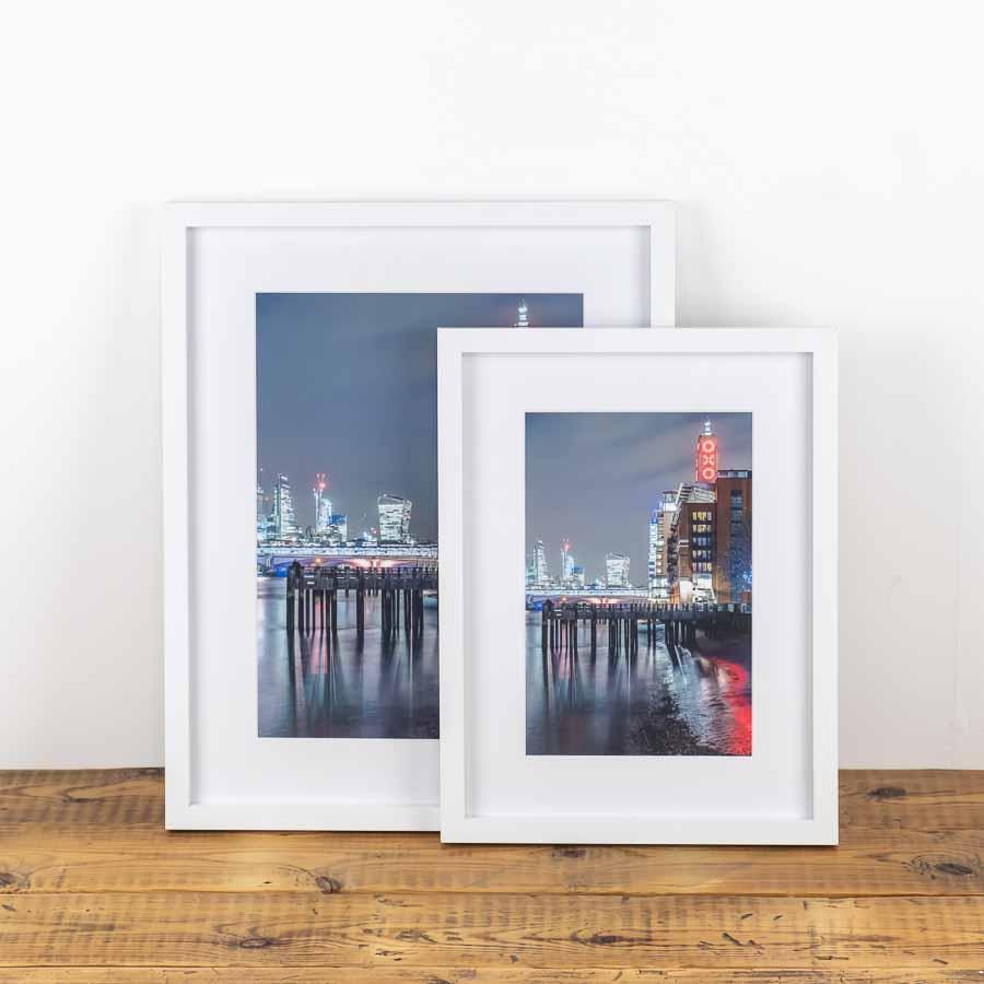 framed prints of oxo tower