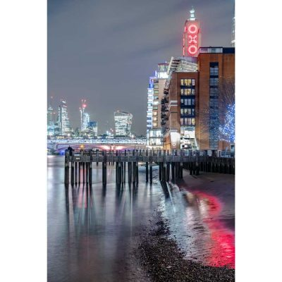 Oxo Tower London at Night