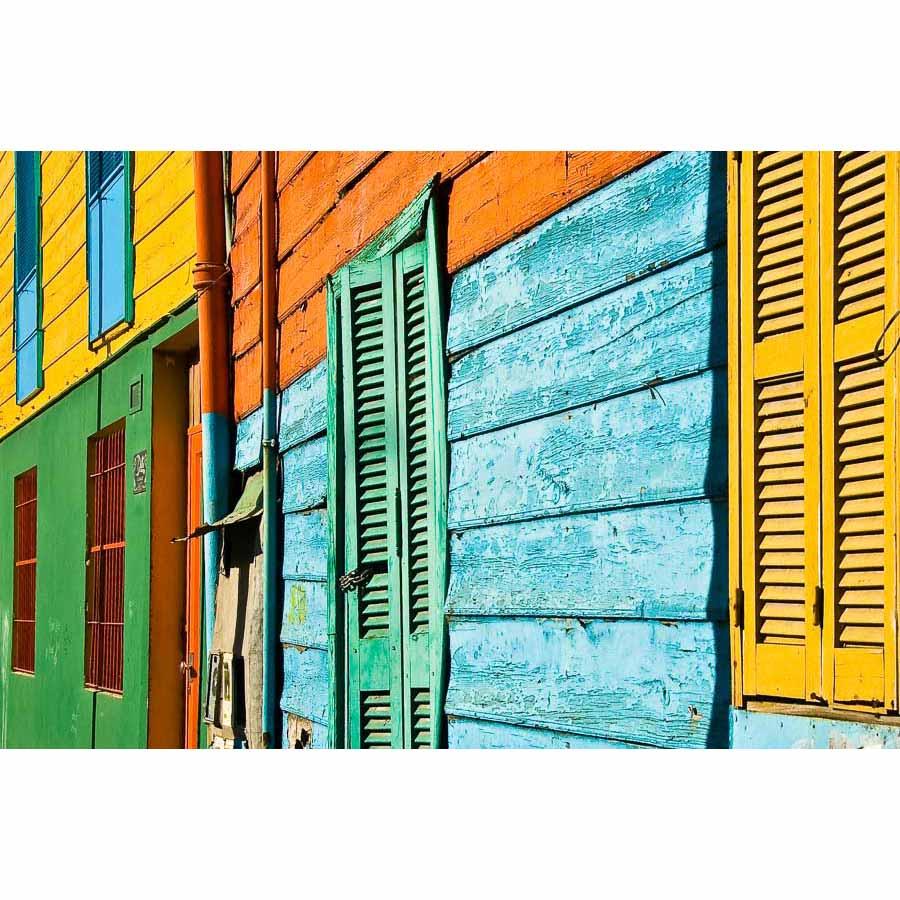 La Boca Colourful Facade Argentina