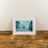 wapping old steps mounted print